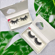 Load image into Gallery viewer, 2- 3D Mink glamour eyelash strips lash bundle - EBALIDA