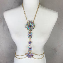 Load image into Gallery viewer, Rainbow Gold Body Chain Jewelry - Shop Glam Fairy