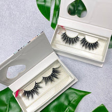 Load image into Gallery viewer, 2- 3D Mink glamour eyelash strips lash bundle - Shop Glam Fairy