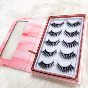 5 pairs of the Love lash - Shop Glam Fairy
