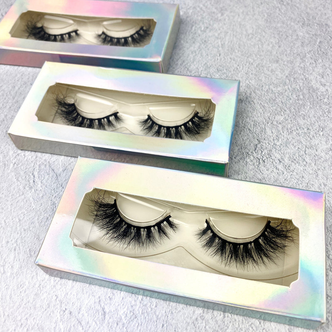 3D mink cat eye lash strips - Shop Glam Fairy
