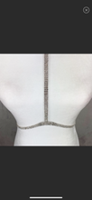 Load image into Gallery viewer, Gold & silver rhinestone body chain choker - Shop Glam Fairy