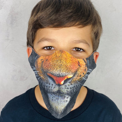 Tiger Lightweight Animal Mask - Shop Glam Fairy