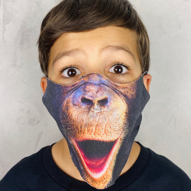Monkey Lightweight Animal Mask - Shop Glam Fairy