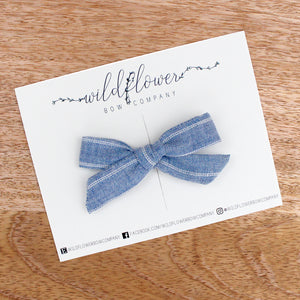 Faded Blue Stripe Mini Winnie