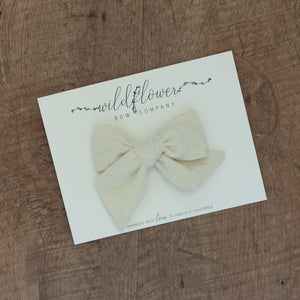 Marshmallow Raw Silk Rosie