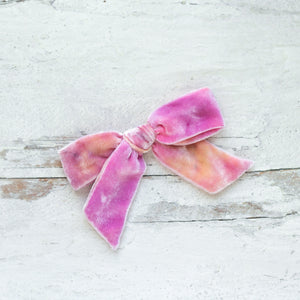 Pink Grapefruit Silk Velvet