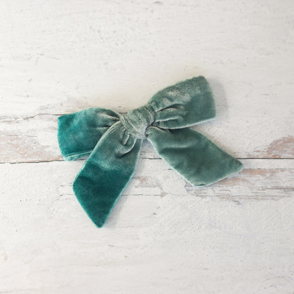 Spearmint Silk Velvet