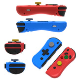 Kinvoca Joy Con Replacement for Nintendo Switch | Supports NFC, Console Update and Wake-Up Function - Red & Blue