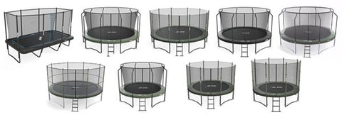 Free shipping for all trampoline packages in lower 48 states