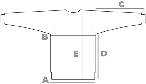 ACON Sweatshirt sizes