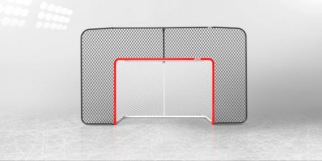 ACON Wave Hockey -backstop net with goal