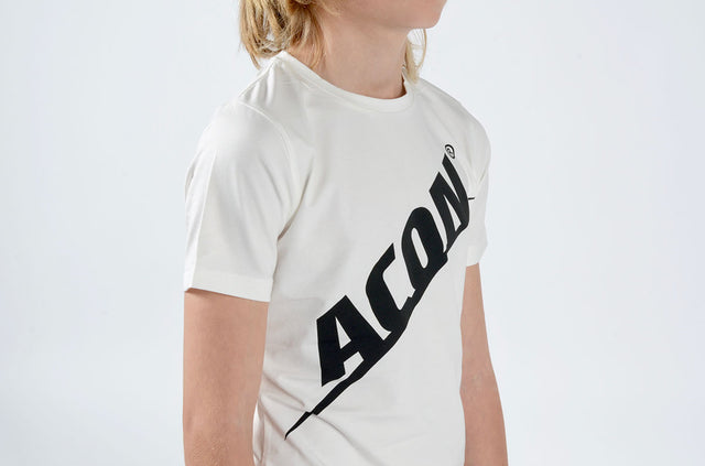 ACON T-shirt Regular, white - Acon-us