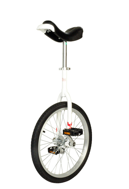 "Unicycle Only One 20"", white"