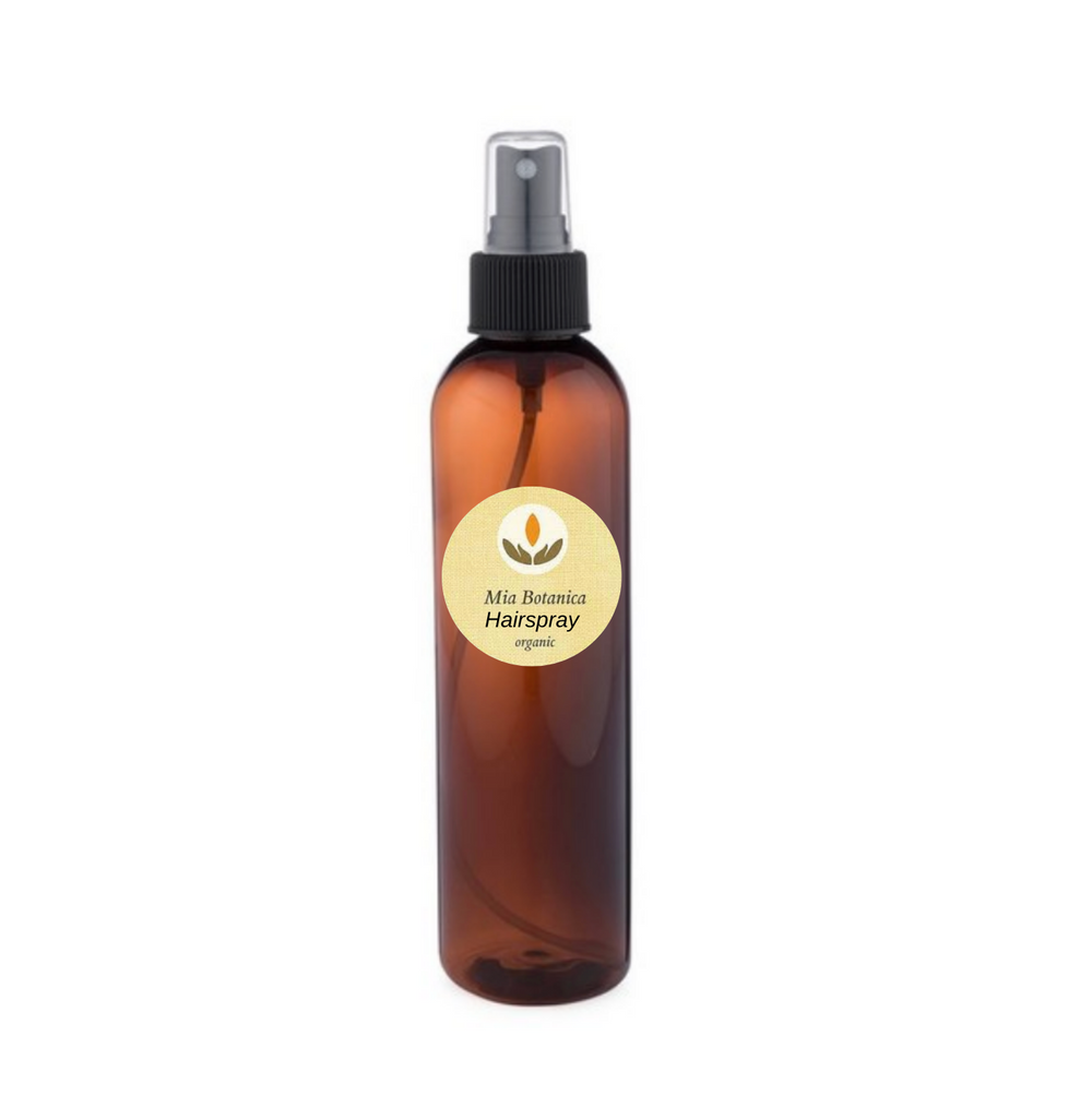 Organic Hairspray, Medium/Strong hold with Hibiscus