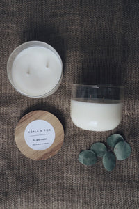 Double Wick Soy Candle - Salted Caramel