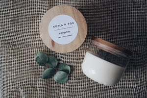 Double Wick Soy Candle - Vanilla
