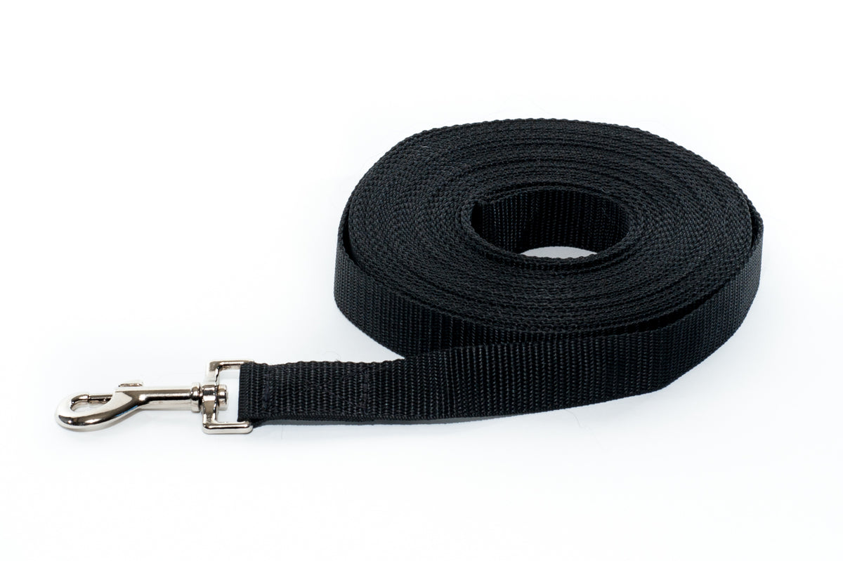 Training Lead - 3m soft webbing - Positive Dog Products
