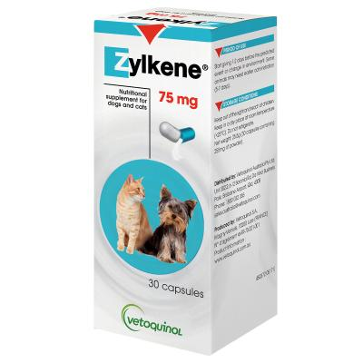 Zylkene 75mg (30 capsules) | Positive Dog Products | Adelaide