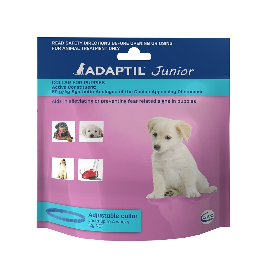 Adaptil Junior - On the Go & Training Pheromone Collar for Puppies | Positive Dog Products | Adelaide