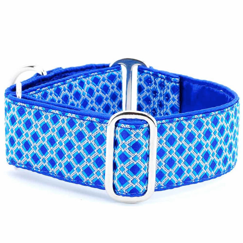 Designer Collar Lattice Royal - Positive Dog Products
