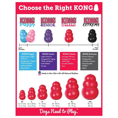 KONG Classic Medium | Positive Dog Products | Adelaide