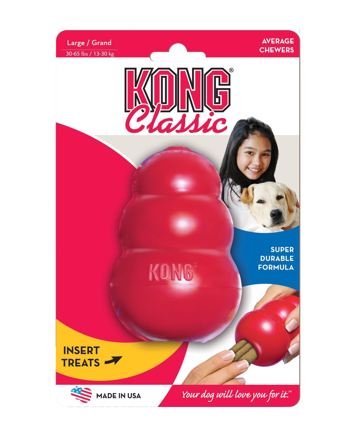 KONG Classic Large | Positive Dog Products | Adelaide