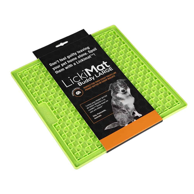 Lickimat Buddy Large Green - Positive Dog Products