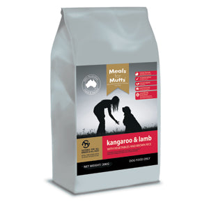 Meals for Mutts Kangaroo & Lamb 20kg (Adelaide Metro Delivery Only) | Positive Dog Products | Adelaide