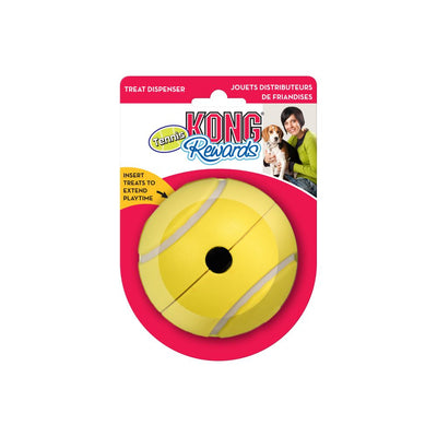 KONG Rewards Tennis Treat Dispensing Ball Large - Positive Dog Products