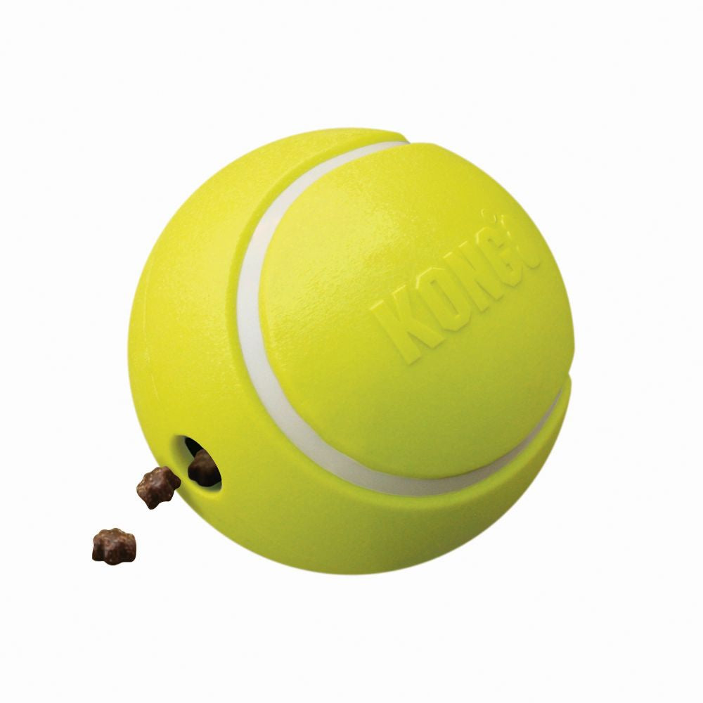 KONG Rewards Tennis Treat Dispensing Ball Small - Positive Dog Products