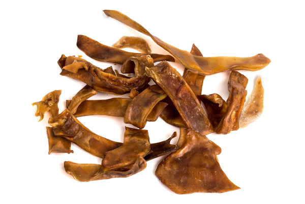 Pigs Ear Trims - 100g - Positive Dog Products