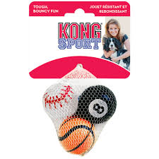 KONG Sports Balls Assorted 3 pack medium - Positive Dog Products