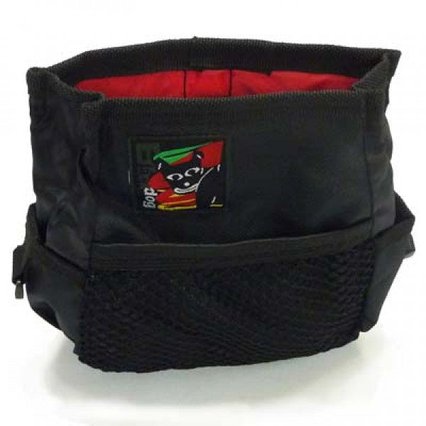 Black Dog Treat Bag - Black | Positive Dog Products | Adelaide