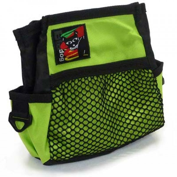 Black Dog Treat Bag - Green - Positive Dog Products