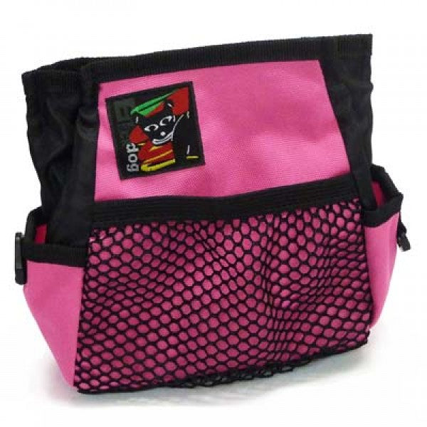 Black Dog Treat Bag - Pink - Positive Dog Products