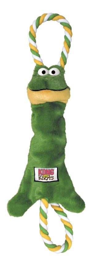 KONG Tugger Knots Frog Medium/Large | Positive Dog Products | Adelaide