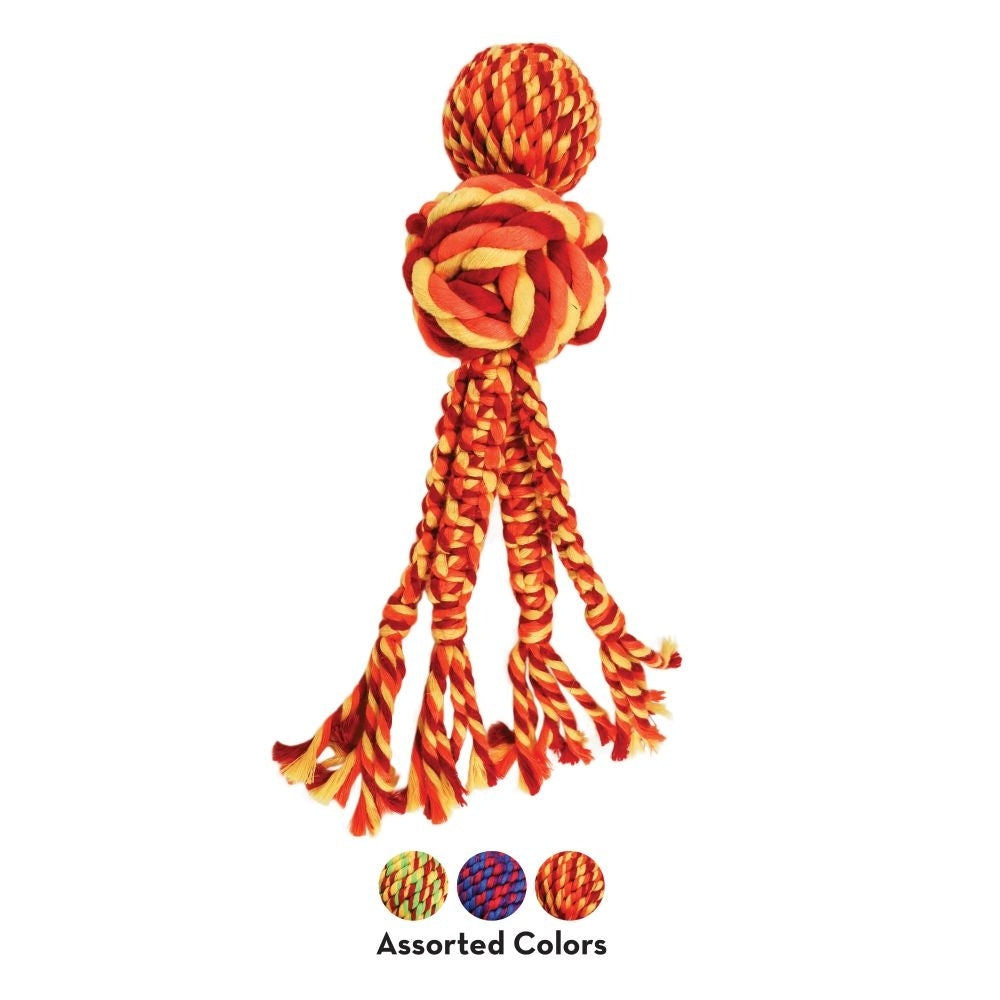 KONG Wubba Weaves with Rope Small | Positive Dog Products | Adelaide