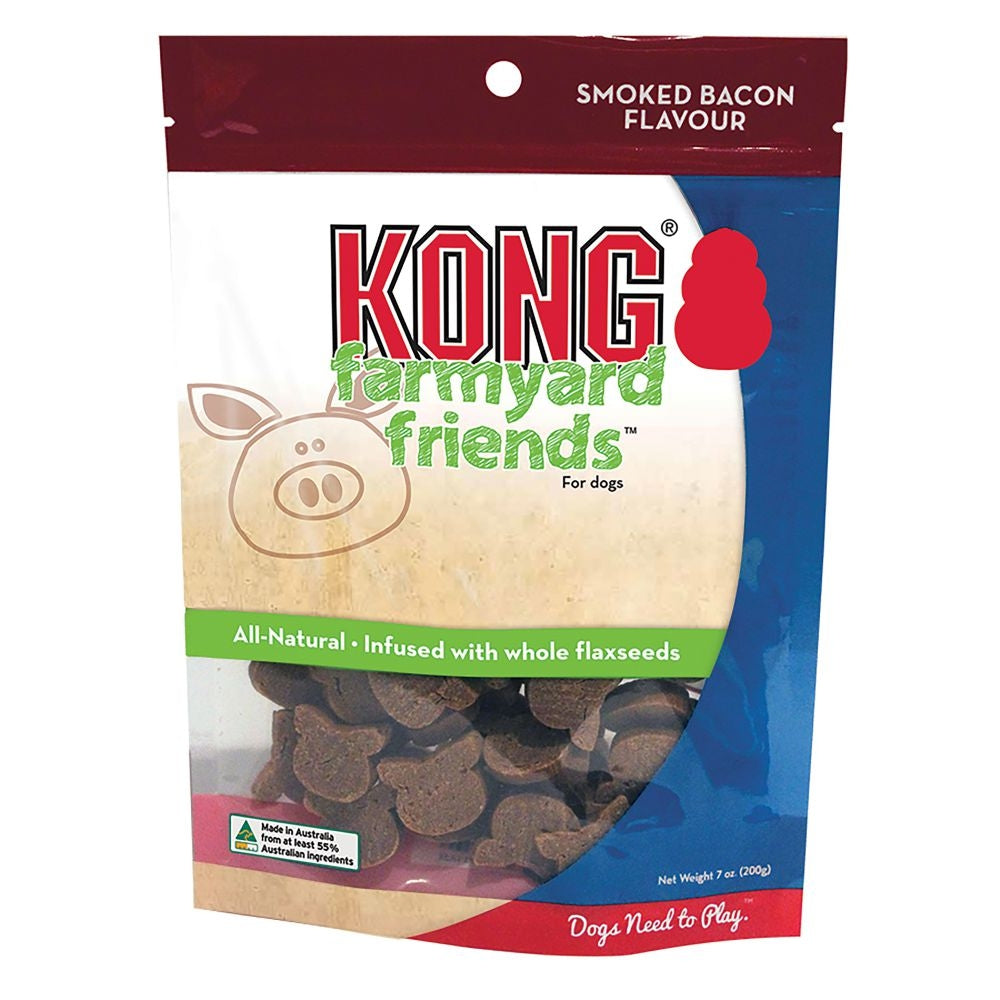 KONG Farmyard Friends Smoked Bacon - Positive Dog Products