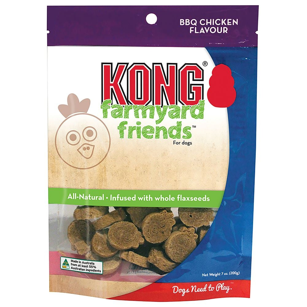 KONG Farmyard Friends BBQ Chicken - Positive Dog Products