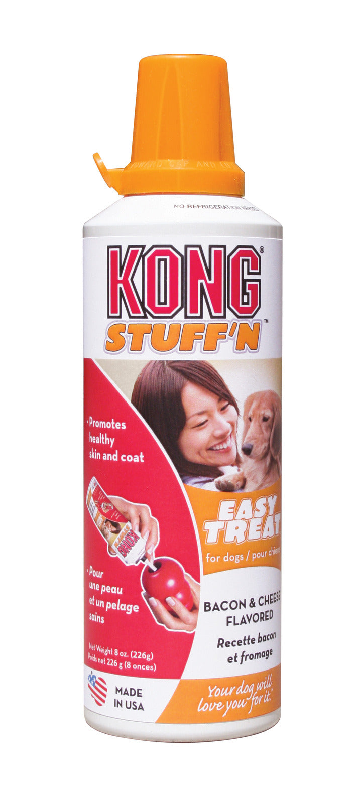 KONG Easy Treats - Bacon & Cheese - Positive Dog Products