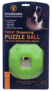 Treat Dispensing Puzzle Ball - Positive Dog Products