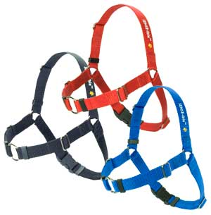 Sensible Harness - Black Medium Large 3/4 - Positive Dog Products