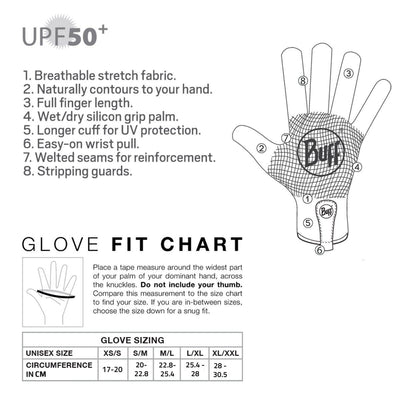 BUFF - MXS GLOVE - BLACK