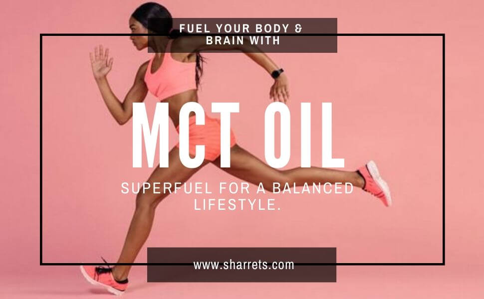 best mct oil online in India - Sharrets Nutritions
