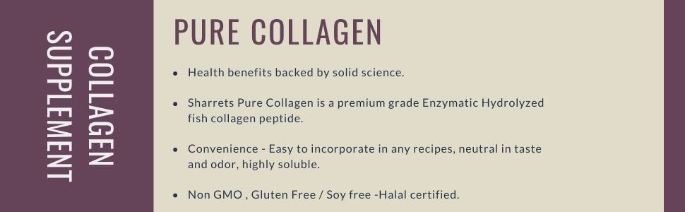 fish collagen for skin , hair & Nails - Sharrets Nutritions ,LLP India