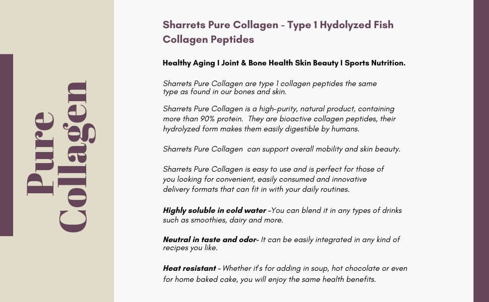 best collagen supplements in India - Sharrets Nutritions , LLP India