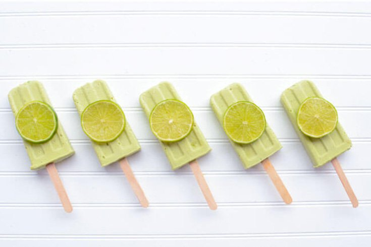 keto lime popsicles - sharrets recipe