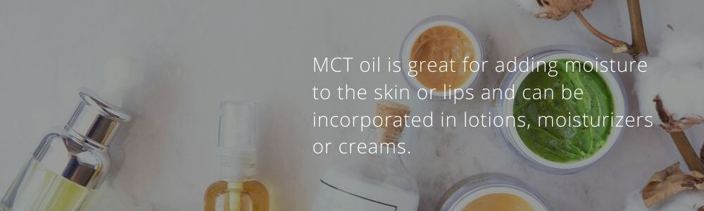 mct oil in personal care products