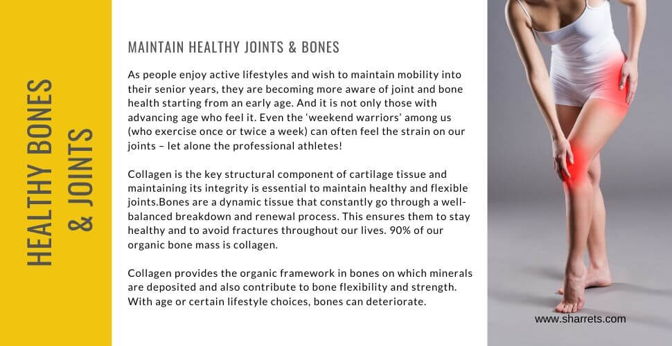collagen for joints- Sharrets Nutritions